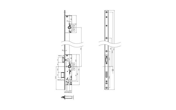 BKS B-18440-03-U-X_na00 Produkt-Zeichnung