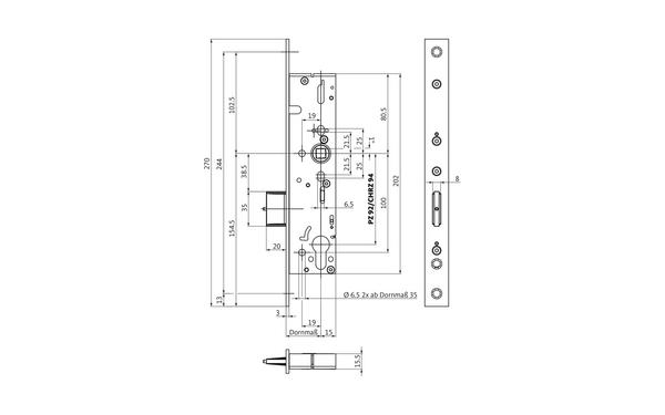 BKS B-18490-05-0-X_na00 Produkt-Zeichnung