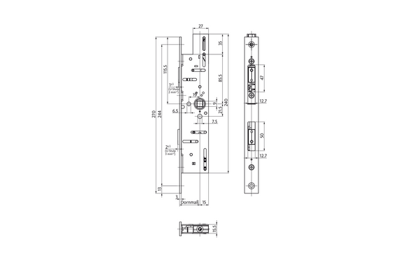 BKS B-18900-00-0-X_na00 Produkt-Zeichnung