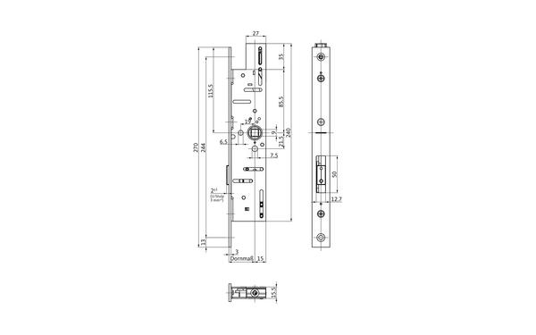 BKS B-18910-00-0-X_na00 Produkt-Zeichnung