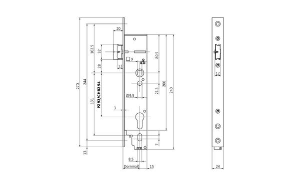 BKS B 1956 0003_na00 Produkt-Zeichnung