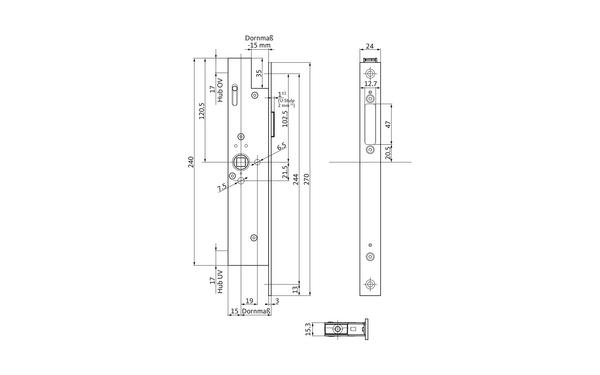 BKS B-19900-01-0-X_na00 Produkt-Zeichnung