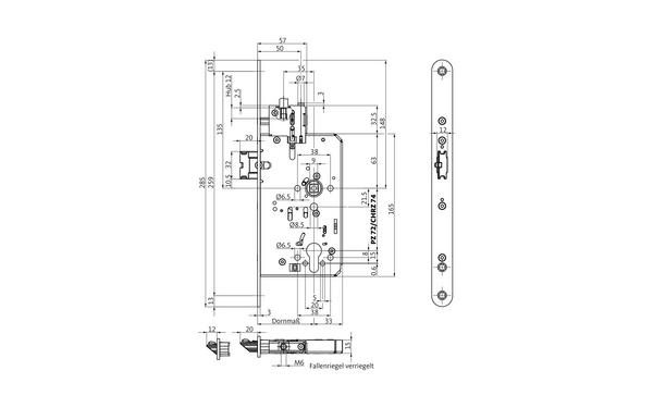 BKS B-21010-00-L-X_na00 Produkt-Zeichnung