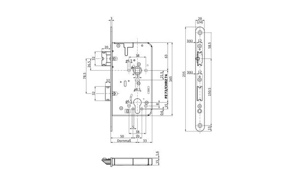 BKS B-21260-01-L-X_na00 Produkt-Zeichnung