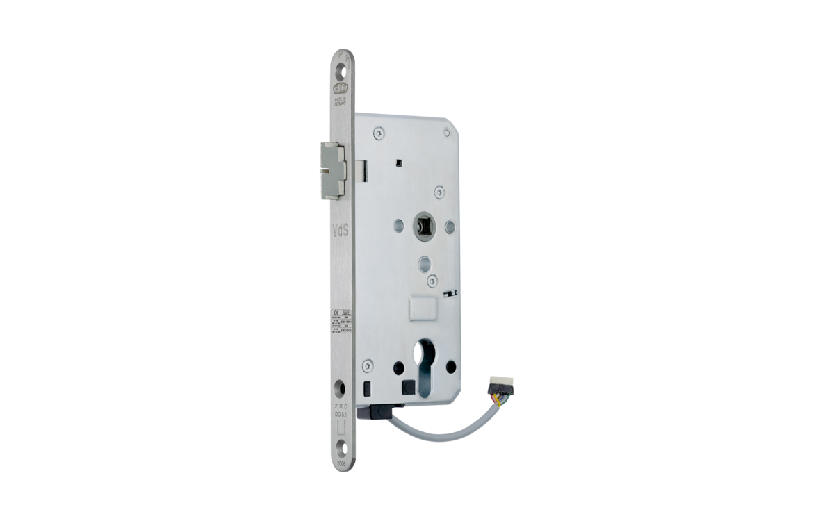 B 2170 electrically coupled panic lock for 1-leaf doors (fail-secure) - GU  Group