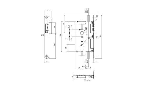 BKS B 2189 0000_na00 Produkt-Zeichnung