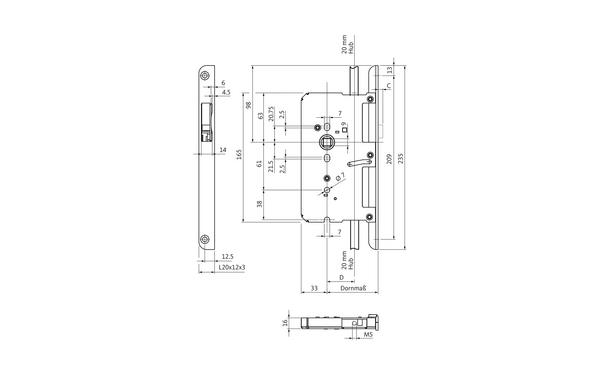 BKS B 2189 0008_na00 Produkt-Zeichnung