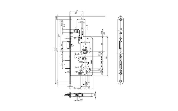 BKS B-23370-00-L-X_na00 Produkt-Zeichnung