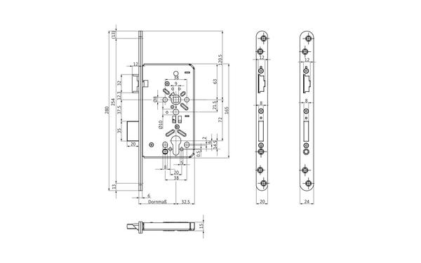 BKS B-63060-10-L-X_na00 Produkt-Zeichnung
