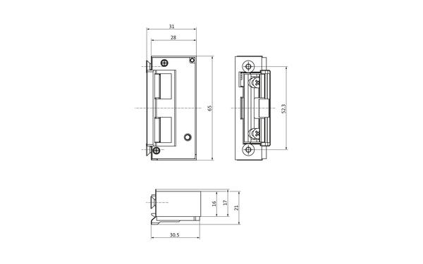 BKS Elektro-Türöffner Nr. 5 6-35805-02-0-X_na00_8z5