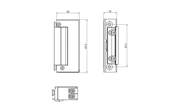 BKS Elektro-Türöffner Nr. 5 (B-9251) B-92510-00-0-X_na01_8z5