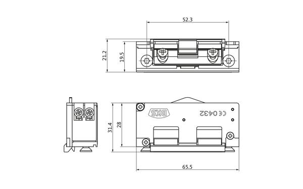 BKS Mechanischer Elektro-Türöffner Nr. 5 (B-9252) METÖ B-92520-00-0-X_na00_8z5