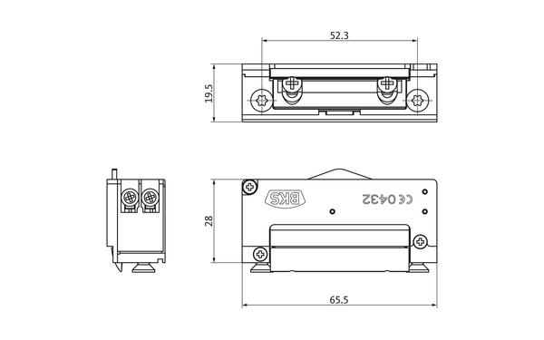 BKS Mechanischer Elektro-Türöffner Nr. 5 (B-9252) METÖ B-92520-20-0-X_na00_8z5