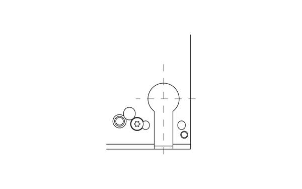 BKS Rundzylinder Symbol-Zeichnung