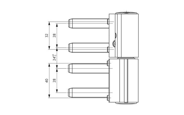 GU A 312 3D Aufschraubband H-01779-00-0-X_na00 Produkt-Zeichnung