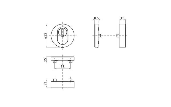 GU b-78820-0o-0-x_na00_8z5 Produkt-Zeichnung