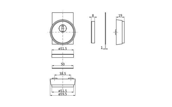GU b-78820-0s-0-x_na00_8z5 Produkt-Zeichnung