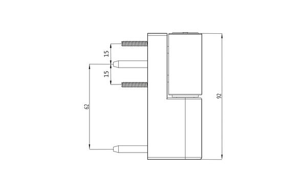 GU F 90 Aufschraubband H-01337-09-0-X_na01 Produkt-Zeichnung
