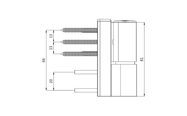GU G 810 F 100 Aufschraubband H-01398-00-0-X_na01 Produkt-Zeichnung