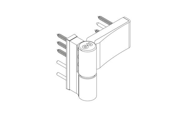 GU G 810 F 100 S Aufschraubband H-01411-00-0-X_na02 Produkt-Zeichnung