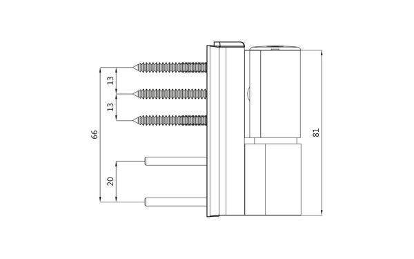 GU G 810 F 85 Aufschraubband H-01401-00-0-X_na01 Produkt-Zeichnung