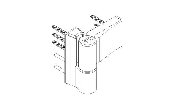 GU G 810 F 85 Aufschraubband H-01401-00-0-X_na02 Produkt-Zeichnung