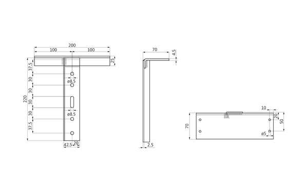 GU h-01516-00-0-x_na00 Produkt-Zeichnung