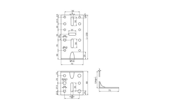 GU h-01846-03-0-x_na00 Produkt-Zeichnung