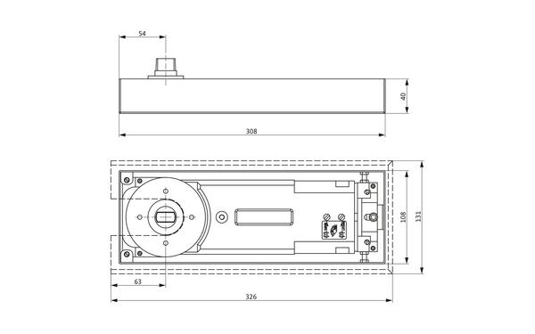 GU K-17442-25-0-X_na00_8z5 Produkt-Zeichnung