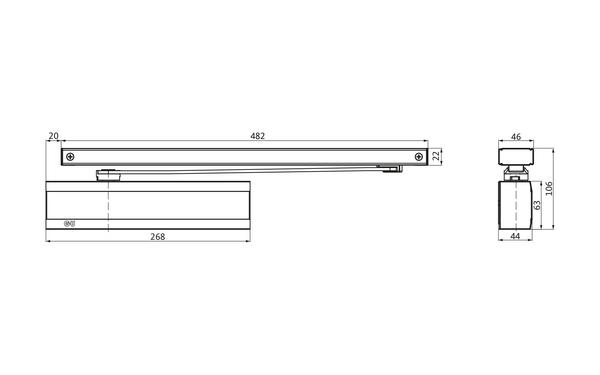 GU K-19060-00-0-X_na00_8z5 Produkt-Zeichnung