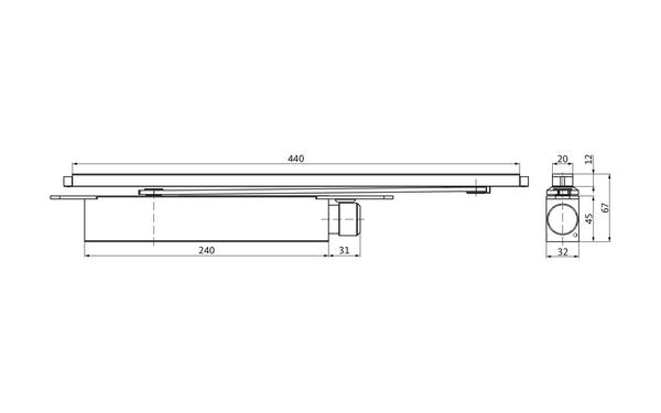 GU K-19273-00-0-X_na00_8z5 Produkt-Zeichnung