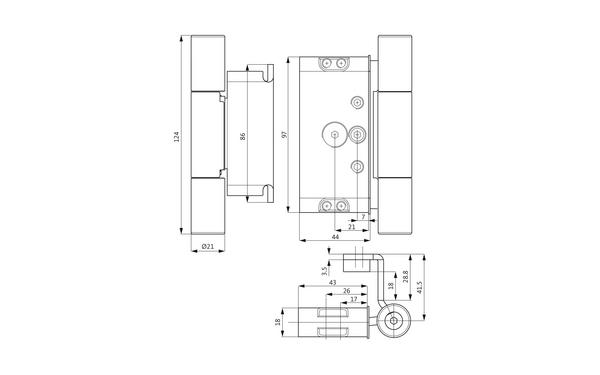 GU M 516 3D Einfräsband H-01662-00-L-X_na00 Produkt-Zeichnung