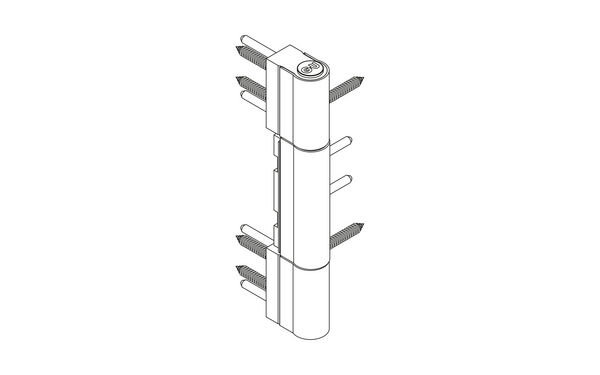GU R 816 3D Rollenband H-01797-00-0-X_na00 Produkt-Zeichnung